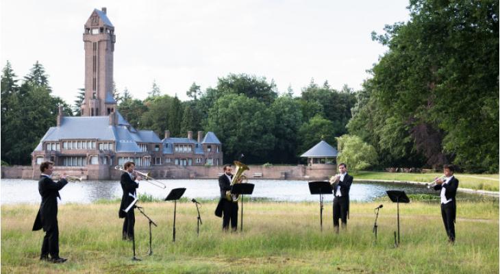 Nederlands Jeugd Orkest Koperensemble speelt Sirene