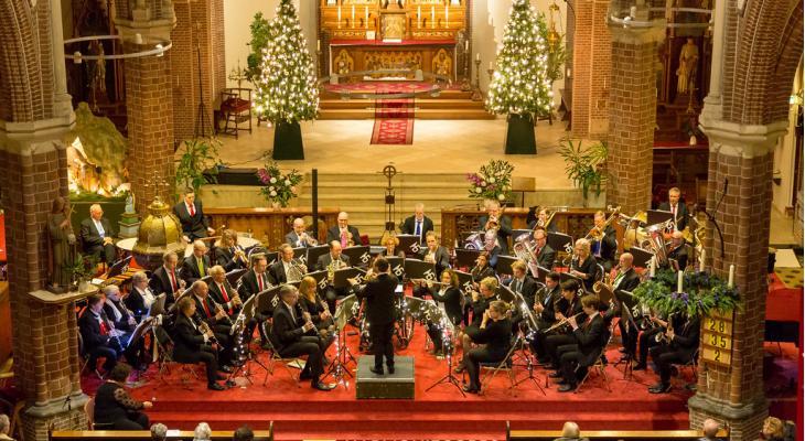Kerstconcert van Harmoniecorps Tuindorp