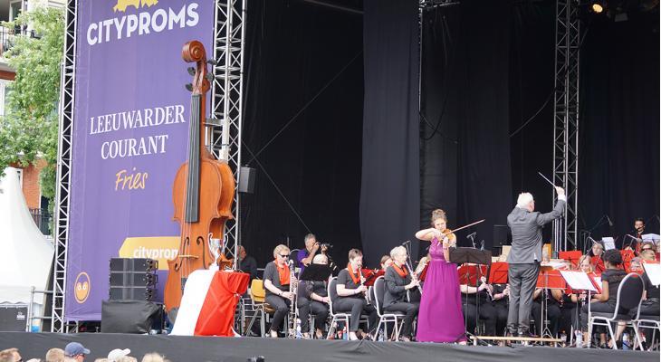 Harmonie Da Capo '67 met 90 muzikanten op CityProms