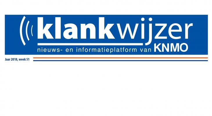 KNMO Nieuwskrant over marsconcours en fanfarefestival