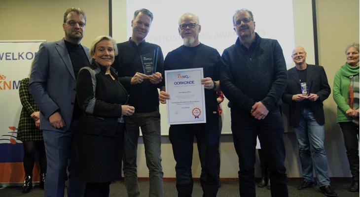 KNMO Award voor christelijke muziekvereniging Hattem