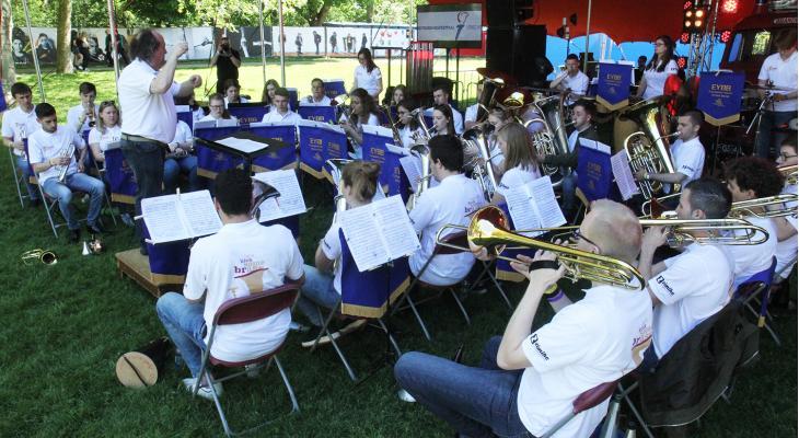 Nederlandse talenten in Europese jeugdbrassband