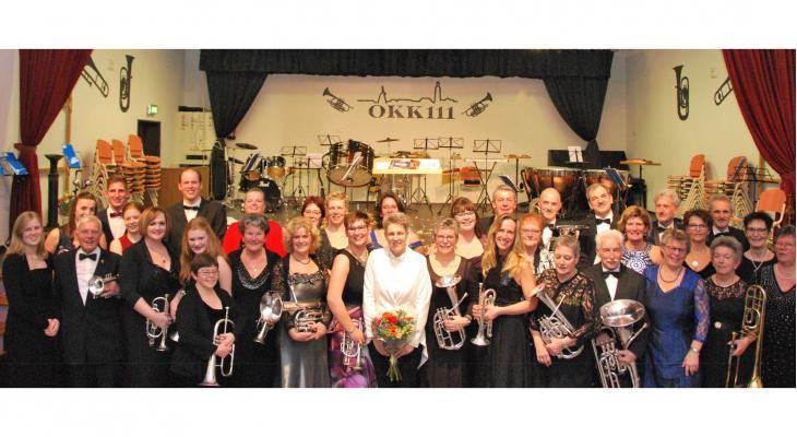 Brassband OKK opent jubileumjaar