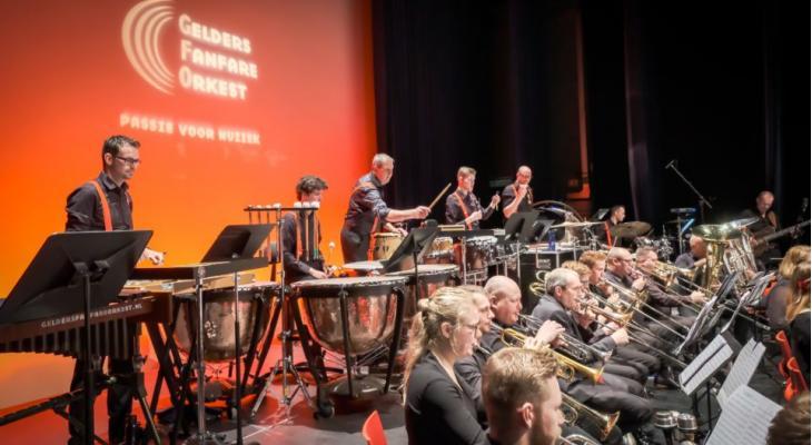 Gelders Fanfare Orkest onder leiding van Ivan Meylemans