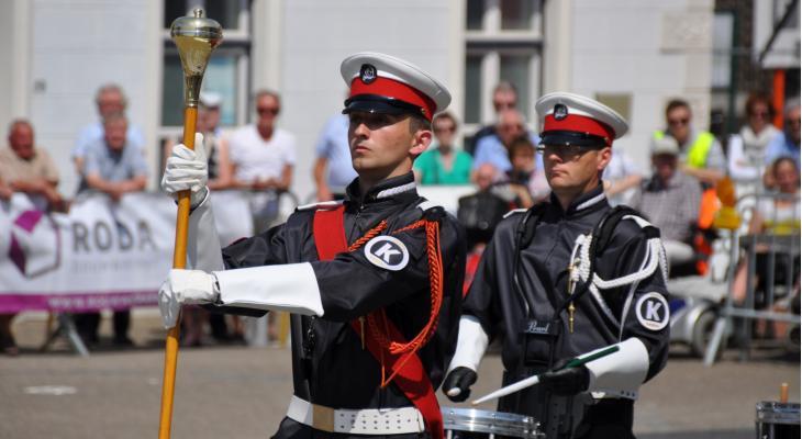 Nederlanders in actie op VLAMO Open voor tamboer-majoors