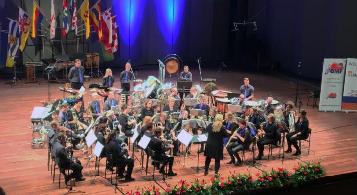 Brassband Heman wint in Drachten
