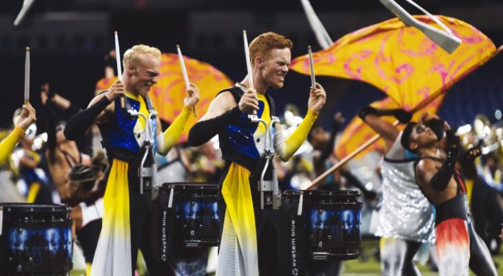De winnende run van The Blue Devils