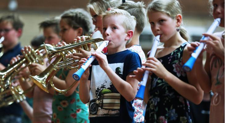 Méér Muziek in de Klas: niet voor iedereen een visvijver