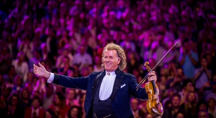 André Rieu schenkt 425.000 euro voor muziekonderwijs