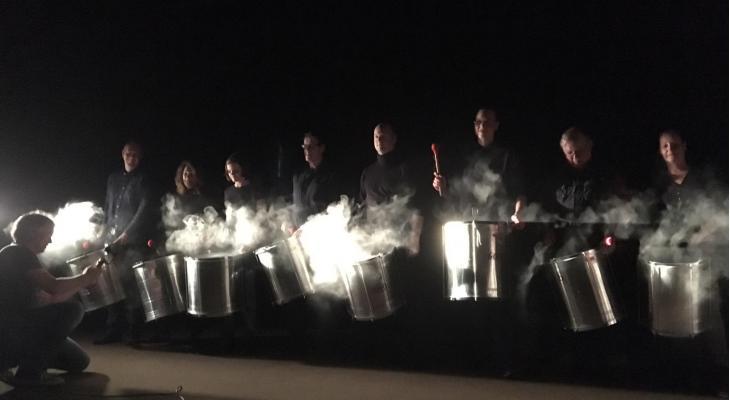 Concert in the Dark door Slagwerkgroep Bovenkerk