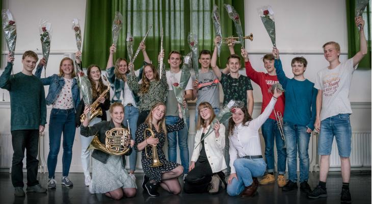 Zestien Friese muzikanten geslaagd voor D-examen