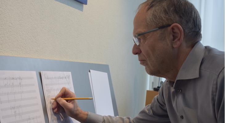 Jan de Haan schrijft testpiece voor EBK-jeugd