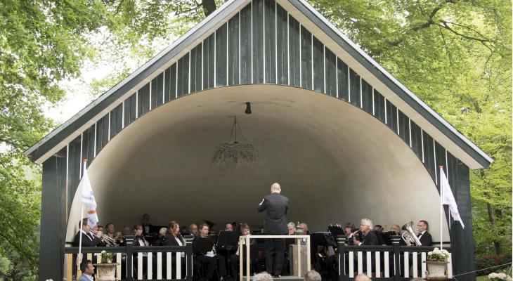 Hemelvaartsdagconcert door Koninklijke Rosendaalsche Kapel