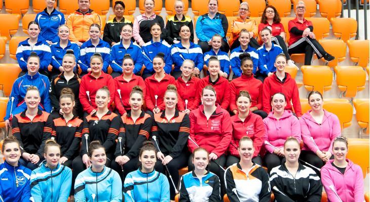 KNMO-majorettes/twirlers naar internationaal toernooi in Frankrijk