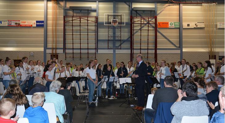 120 muzikanten in VHL-jeugdorkest