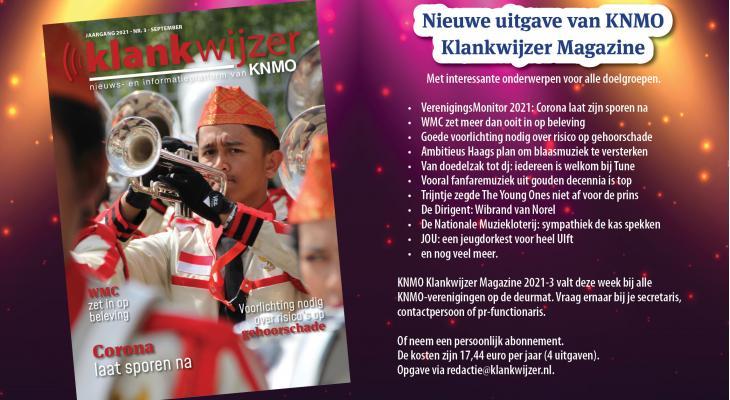 KNMO Klankwijzer Magazine met onderwerpen voor alle doelgroepen