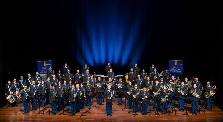 Reünie bij 70 jaar Orkest Koninklijke Marechaussee
