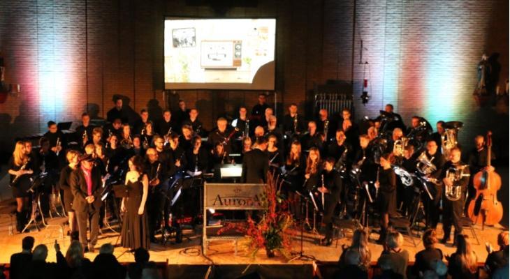 Aurora Grevenbicht ontvangtMusique Militaire Grand-Ducale Luxemburg
