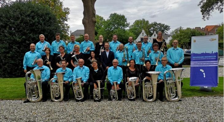 Seizoensafsluiting met Brassband Breukelen en het Frysk Jeugd Fanfare Orkest