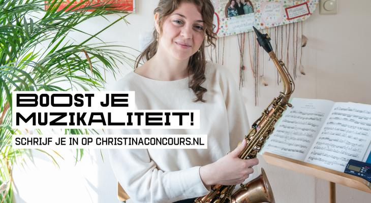 <p>12 december: deadline voor inschrijving Prinses Christina Concours </p>