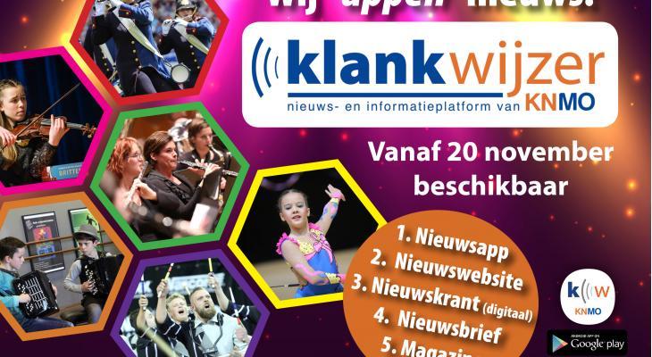 Nieuws- en informatieplatform KNMO Klankwijzer gelanceerd