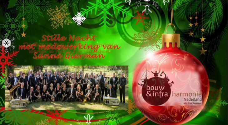 Kerstgroet vanBouw- en Infraharmonie Nederland