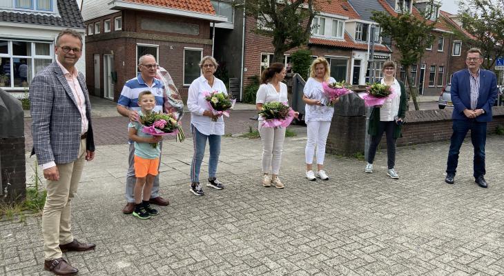 Jubilarissen bij Harmonie Katwijk gehuldigd