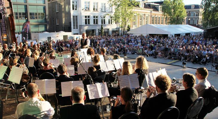 Jouster Fanfare naar VLAMO Open