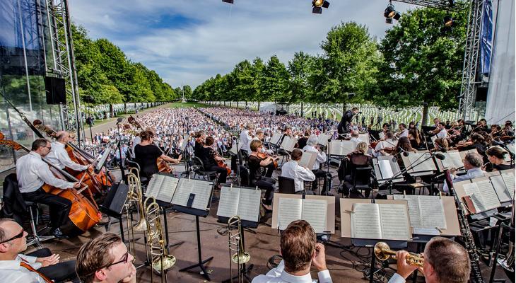 Veel nieuwe muziek bij viering 75 jaar vrijheid