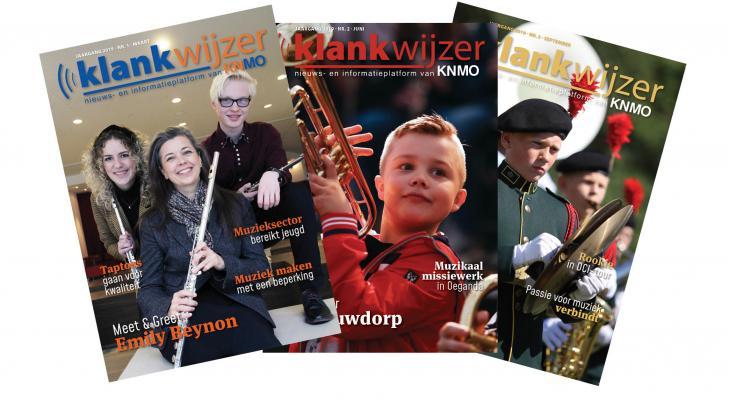Opgave advertenties voor Klankwijzer magazine