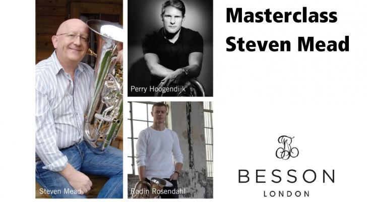 Masterclass en concert Steven Mead met Besson-artiesten