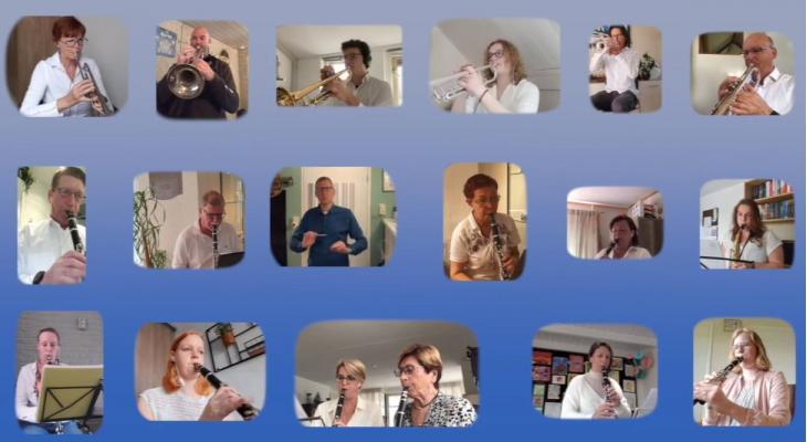 Steenbergense verenigingen samen in videoproject Looking Forward