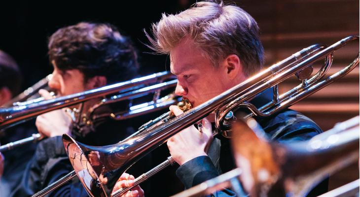 Kijkje in de keuken van de tromboneafdeling van Conservatorium Amsterdam