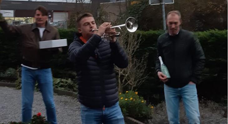 Trompettist Jeffrey gekozen tot Persoon van het Jaar
