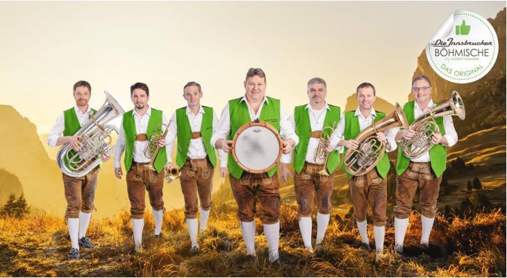 Die Innsbrucker Böhmische te gast op Isseltalerfest