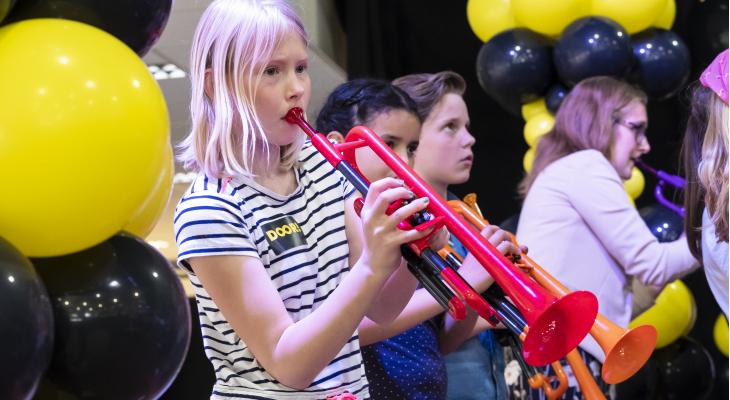 Na muziekles nu ook instrument voor ieder kind