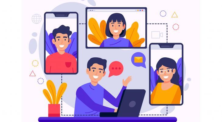 Online vergaderen wordt het niet