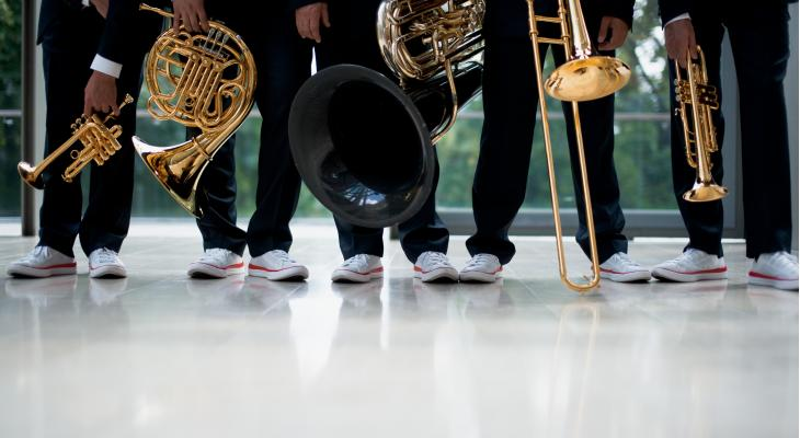 Canadian Brass doet Nederland aan