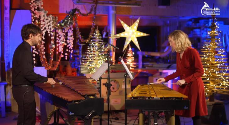 Krystnacht-stream met Harmonie Weidum
