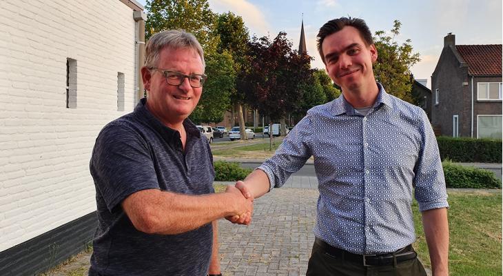 Armand Wolfs leidt Société St. Martin Fanfare de Stein