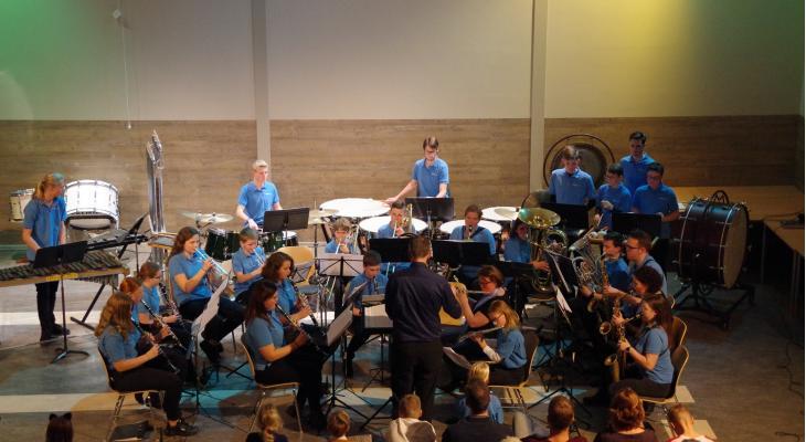 Jeugdplay-in bij jarige MaasMuziek in Puttershoek