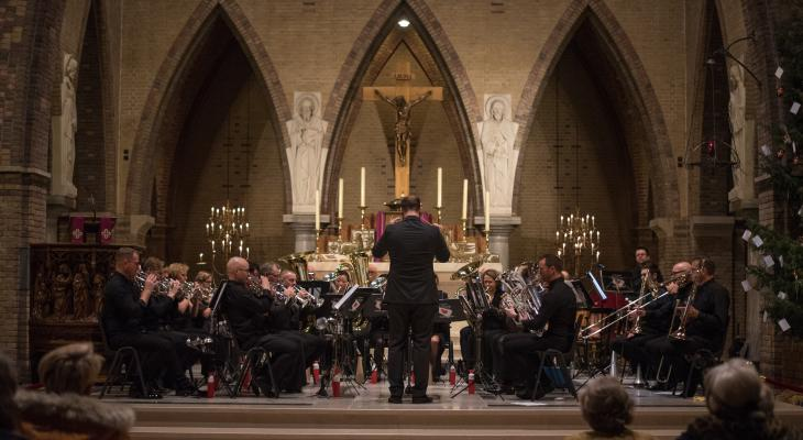 Kerstconcert Pro Rege Heerenveen en Frysk Jeugd Orkest