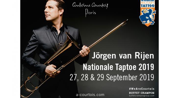 Jörgen van Rijen solist op Taptoe2019