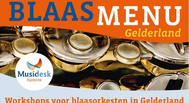 Musidesk start Blaasmenu voor Gelderse orkesten