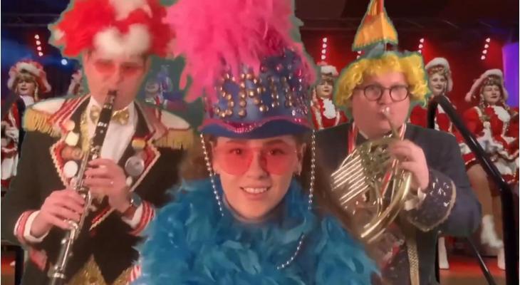 Sint Cecilia Vaals pakt uit met coronaversie van carnavalsschlager