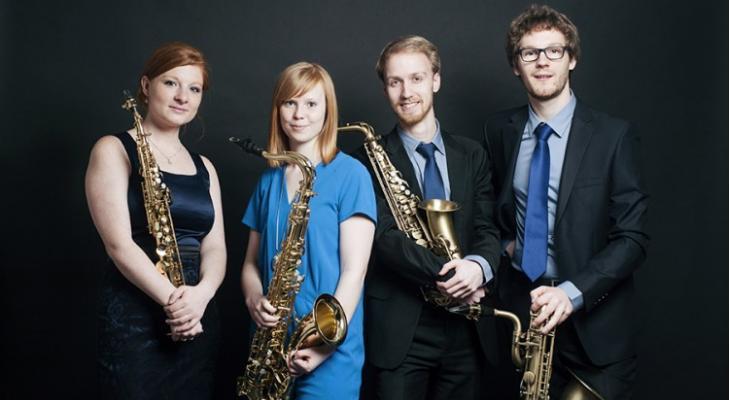 De Euregio in woord en muziekmet veel saxofoonklanken