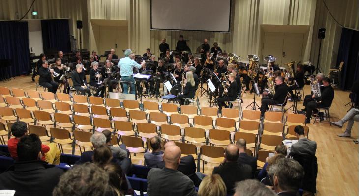 Fanfare Repertoire Festival in teken van jeugd