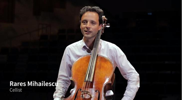 <p>Profs helpen amateurs #3: Rares Mihailescu (cello)</p>