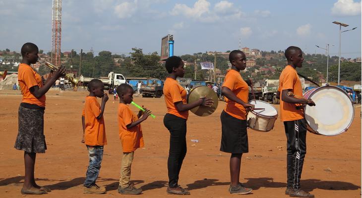Tweede leven voor Nederlandse instrumenten in Uganda