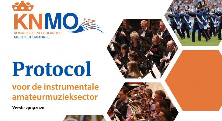 Nieuwe coronaprotocol voor de instrumentale muziek staat online